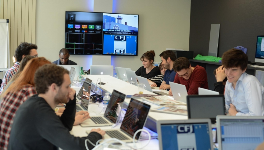 L'École W, le nouveau parcours numérique post-bac du CFJ