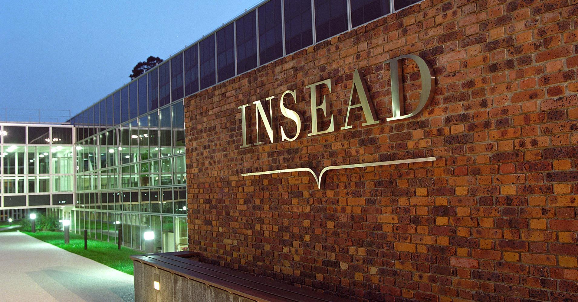 MBA Gestion et Administration des affaires de l'INSEAD